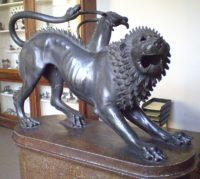 Chimera di Arezzo - National Archeological Museum Florence