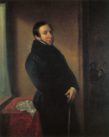 Domenico Barbaja in 1820s painting by unknown artist.