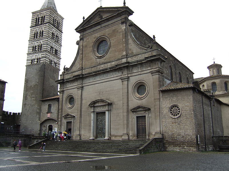 Churches Viterbo - Cathedral